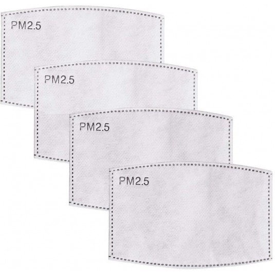 4 Pack Face Mask Filters.