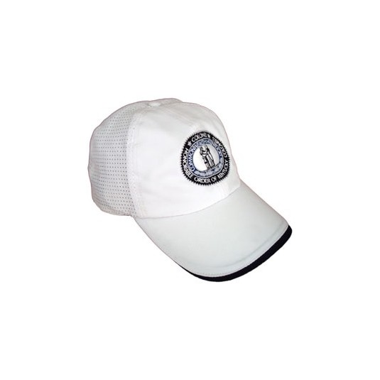 Sporty Kentucky Colonel White Hat