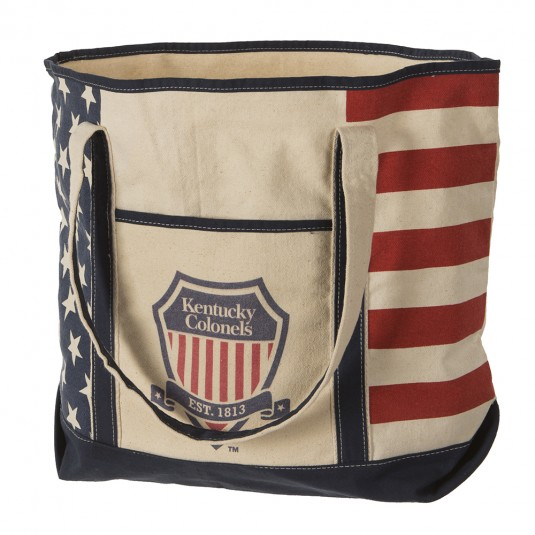 Shield Logo Americana Tote Bag
