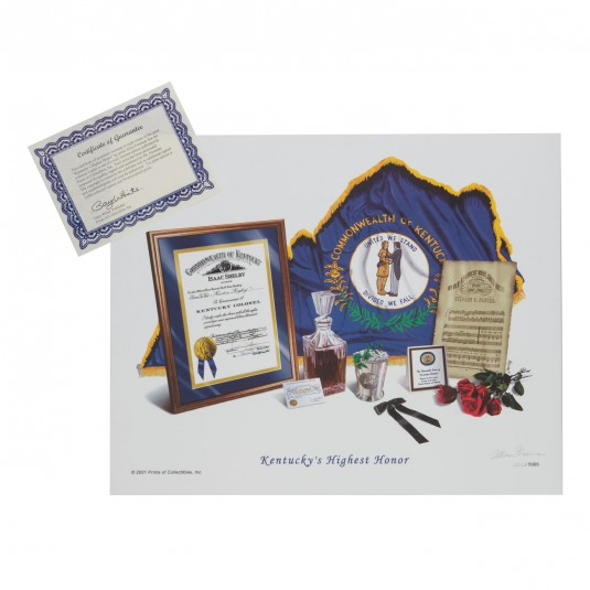 Kentucky Colonel Print