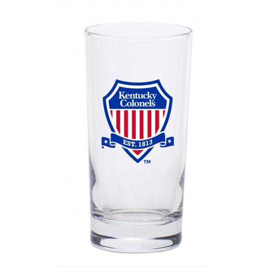 Kentucky Colonels Shield Logo High Ball Glass