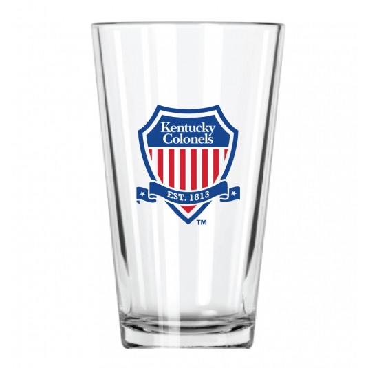 Kentucky Colonels Shield Pint Glass