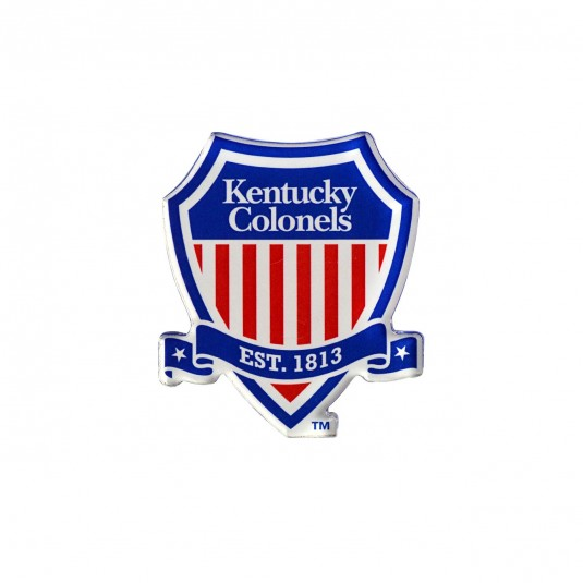 Kentucky Colonel Acrylic Shield Logo Magnet