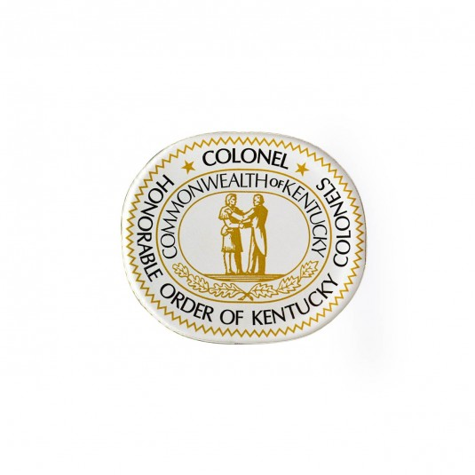 Kentucky Colonel Arcylic Seal Logo Magnet