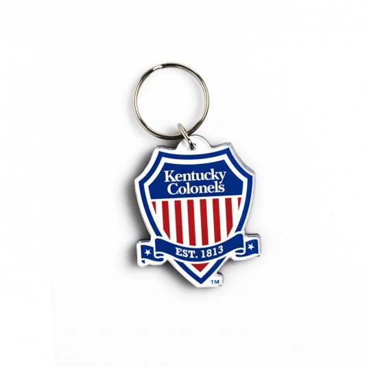 Kentucky Colonel Acrylic Shield Logo Keychain