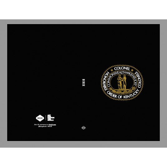 Kentucky Colonel Seal Logo Journal