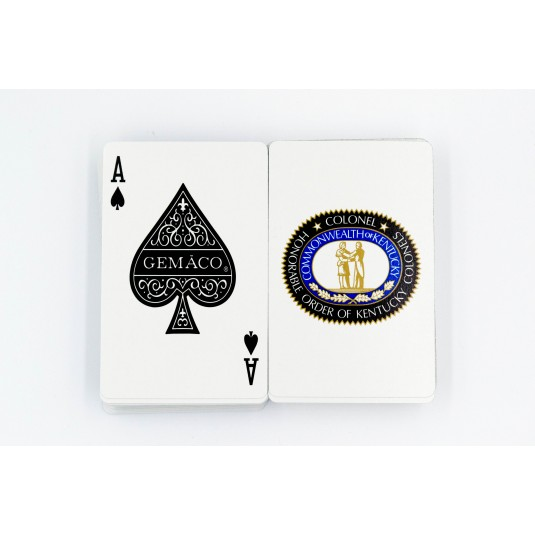 Kentucky Colonels Seal Logo Playing Cards