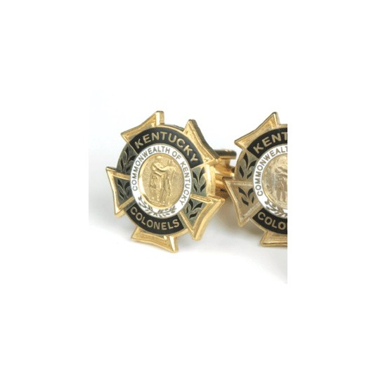 Gold Historic Cuff Links