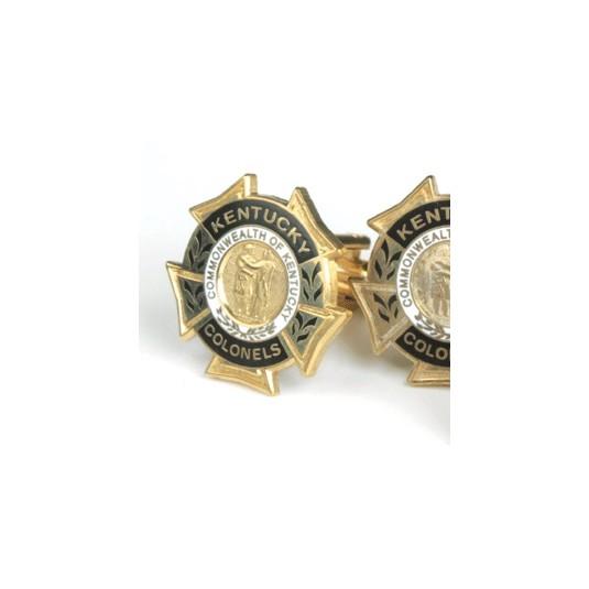 Gold Historic Cuff Links