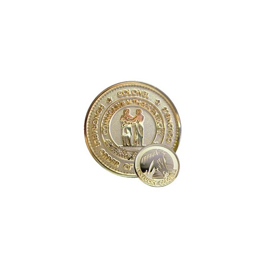 Kentucky Colonels Challenge Coin