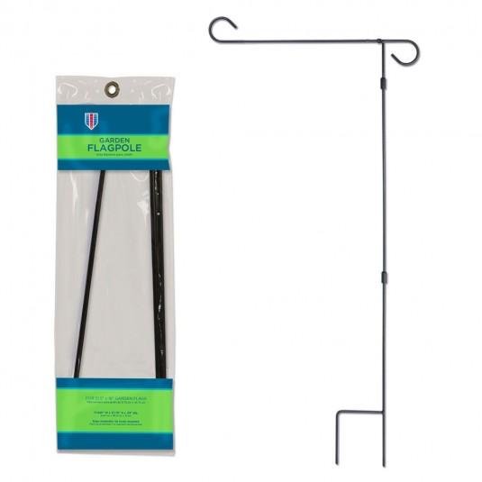 3 Piece Garden Flag Pole Set