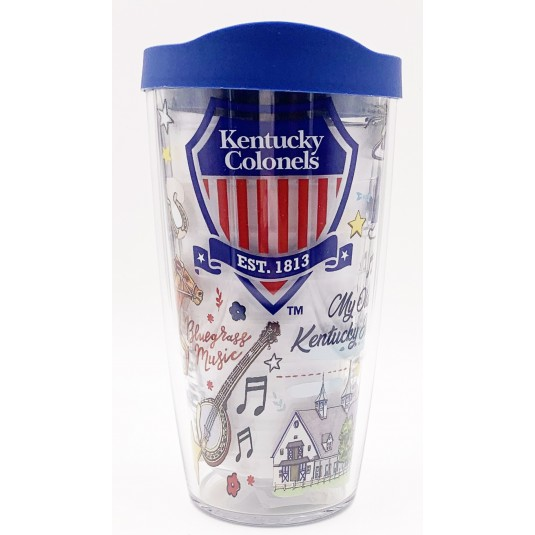 Kentucky Colonels Whimsy 16oz Tervis